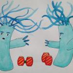 Hydra by Jainyn M. Wood, Dryden High School, Dryden, New York