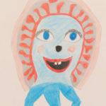 Shelled Amoeba by Valerie Horn, Dryden High School, Dryden, New York