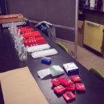 Setup for phagocytosis module